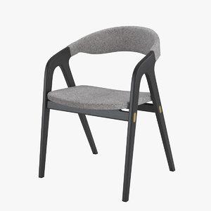 3D model chair kaede modloft