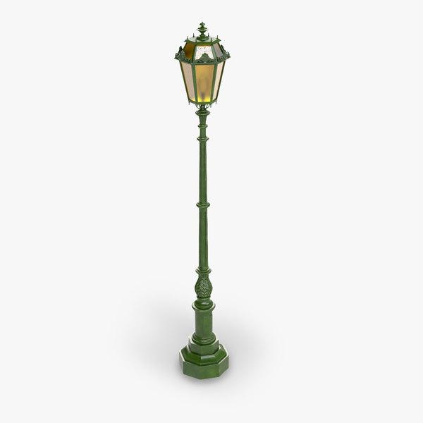 street lamp 3D