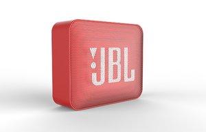 3D model go2 red speaker