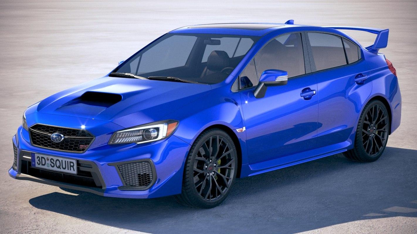Subaru wrx sti 3D model - TurboSquid 1378285