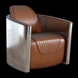 3D mini aviator armchair