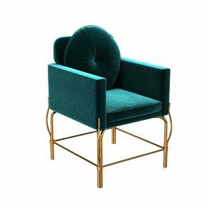 3D chair koket model