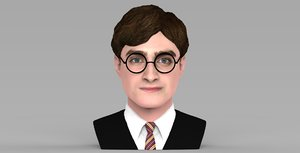 3D potter bust ready color