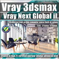006 Corso Vray Next 3ds max Global illumination Volume 6