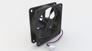 fan pc 3D model