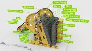 parts description 3D