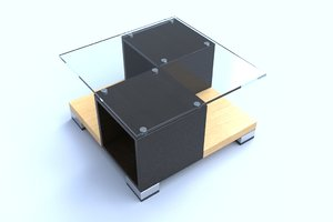 3D table coffee