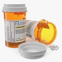 Small Pill Bottle