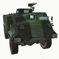 saxon carrier 3D model