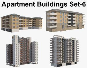 d building apartment 3D model