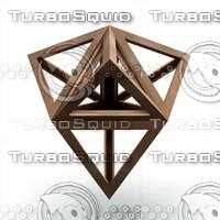 3D tetraedron epirmenon cenon