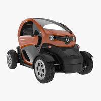 renault twizy 2018 3D model