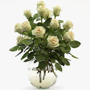 rose bouquet 3D