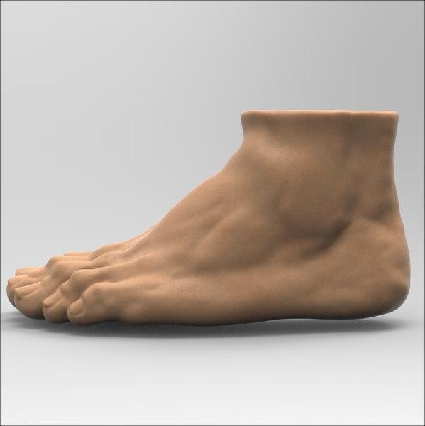 foot 3D model