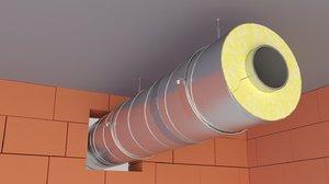 pipe insulation model