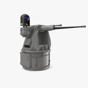 mk38 assault cannon 3D model