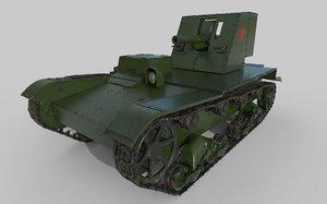 soviet tank su-26 model