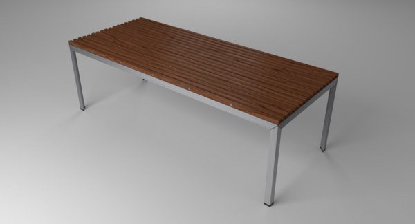 extremis tempore table wood model