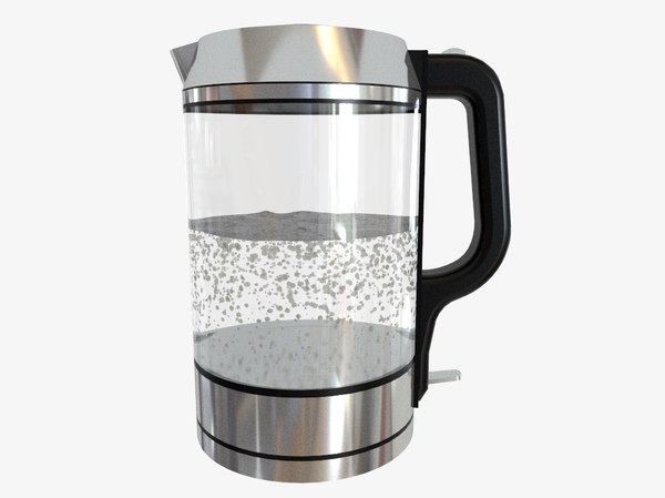 kettle glass 3D