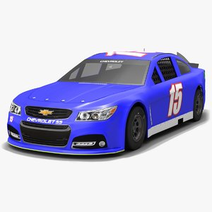 premium motorsports nascar reed 3D model