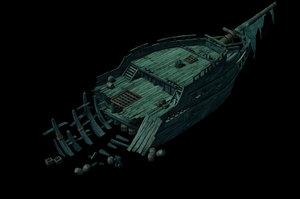 shipwreck - 03 3D model