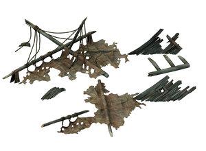 shipwreck - shipbreaker 01 3D model