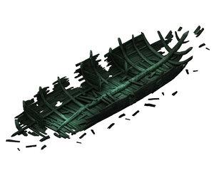 3D shipwreck - 04 model