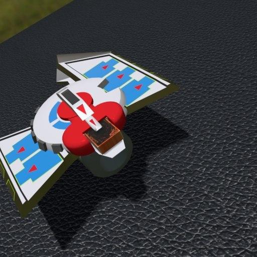 duel disk city 3D