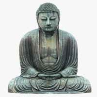 Great Buddha Statue 3D Model