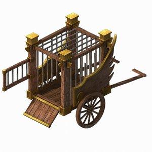 3D barracks - prisoners 032