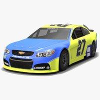 3D richard childress racing nascar model
