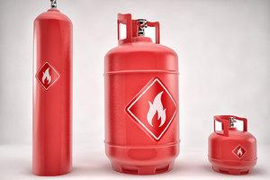 gas tanks best 3D