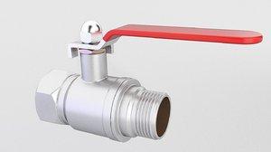 valve ball 3D