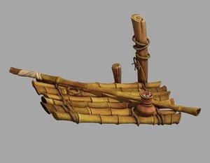 southern suburbs - fishing 3D model