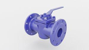 valve plug 3D model
