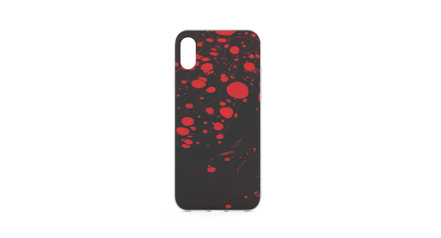 3D iphone case x model