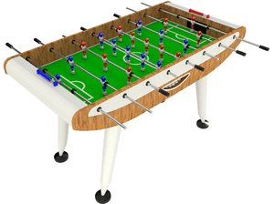 fussball 3D model
