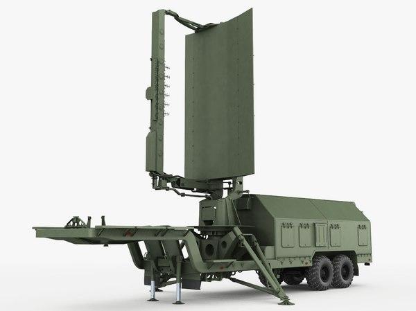radar trailer 19g6 3D model