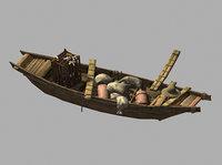 3D journey west - cargo ship