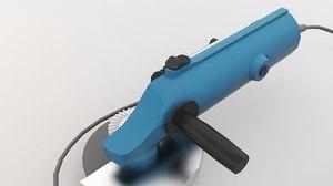 3D grinder angle