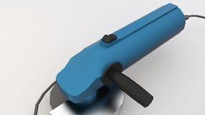 grinder angle 3D model