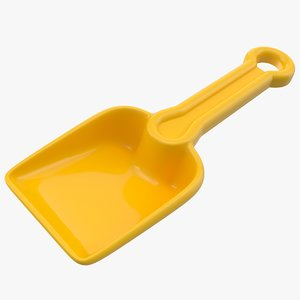 toy shovel 3D model