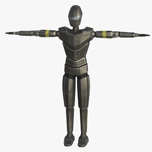 general robot character 3D model