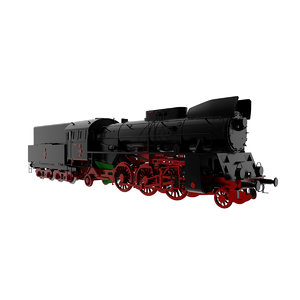 3D pkp ol49 steam train