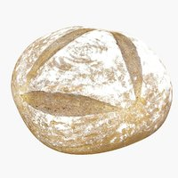bread using 3D model