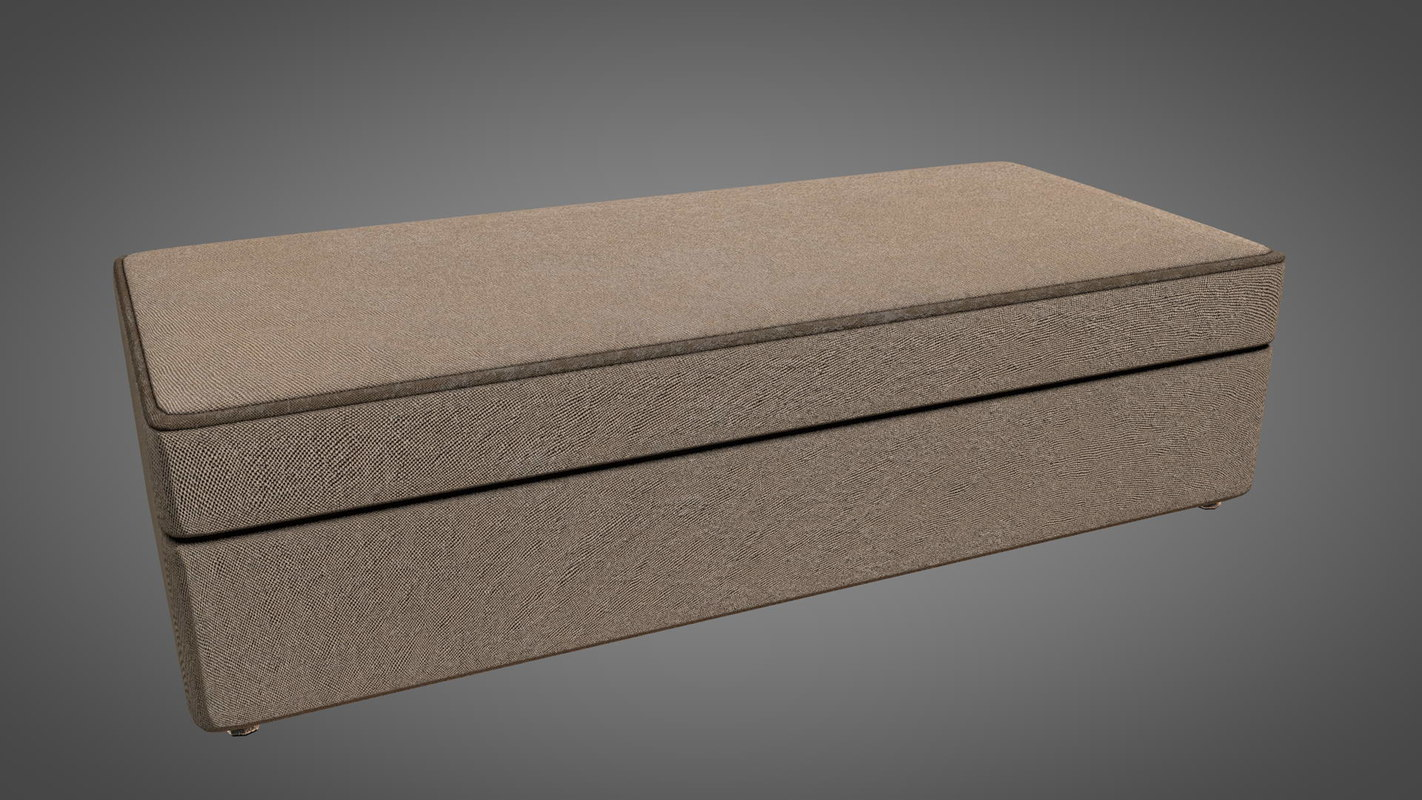 couch seat 3D model