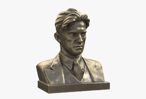 3D model mayakovsky pbr