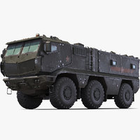 3d model kamaz typhoon