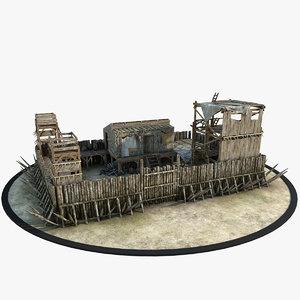 hunter house 3D model