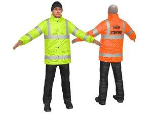 3D safety steward